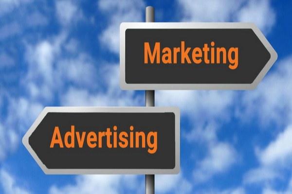 تفاوت بازاریابی و تبلیغات