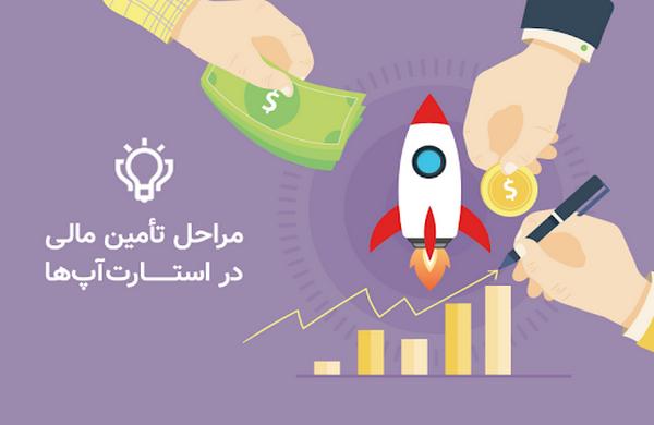 مراحل تأمین مالی در استارتآپها